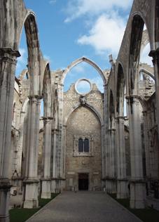 The Convento do Carmo.