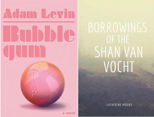 two books bubblegum and shan van
