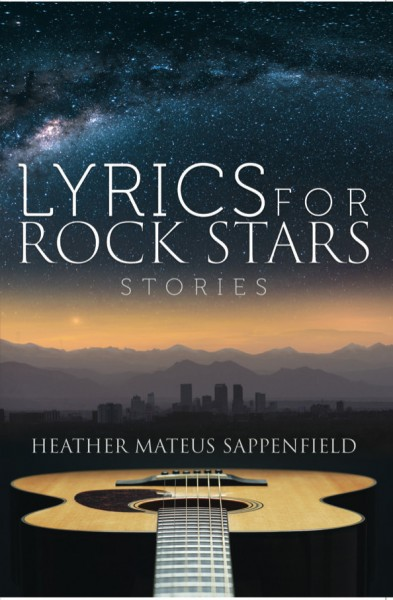 just the front cover of Lyrics for Rock Stars